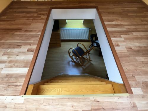 Sypialnia schody